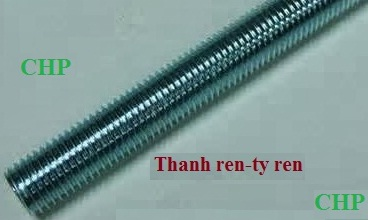 thanh ren ma kem_Galvanized thread rob