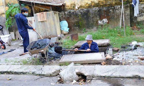 nạo vét, hút hố ga tại Hà Nội