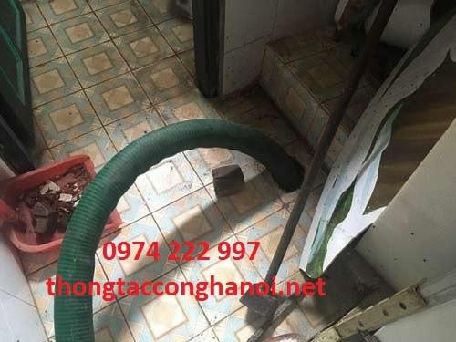 thông tắc hút bể phốt tại Hưng Yên