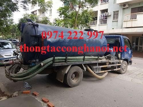thong tac hut be phot tai Quan Nhan