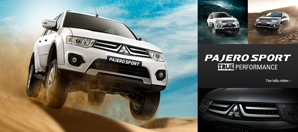 Pajero Sport - New sporty elegance