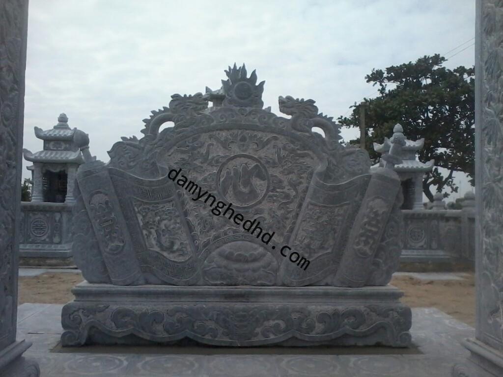 bình phong đặt lăng mộ