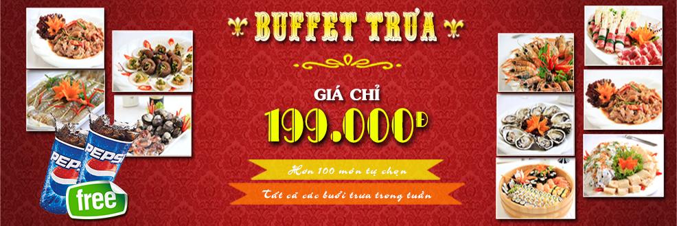 buffet trưa 199k