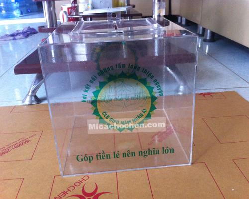 Gia công hộp mica giá rẻ theo yêu cầu tại Hà Nội