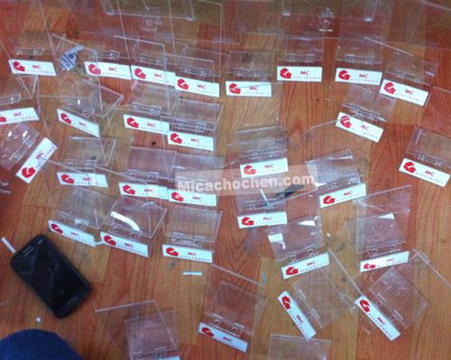 Gia công kệ trưng bày điện thoại tại Hà Nội