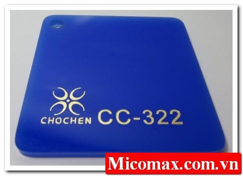mica không xuyên sáng CC-322