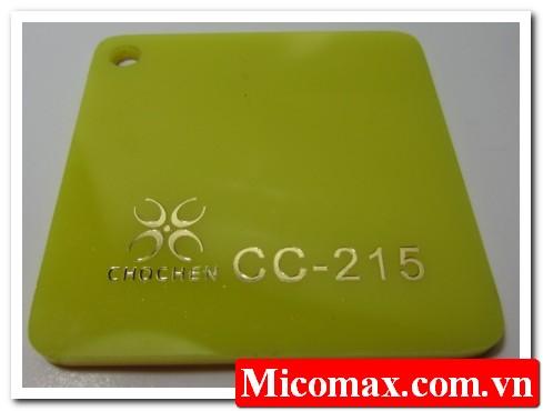 mica không xuyên sáng CC-215