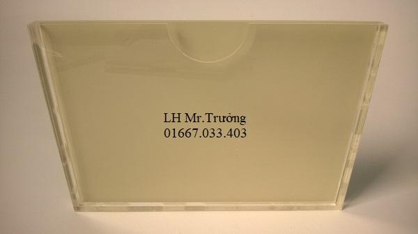 hộp đựng giấy chống tĩnh điện bằng mica