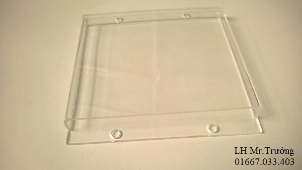 hộp đựng giấy ghi chú mica