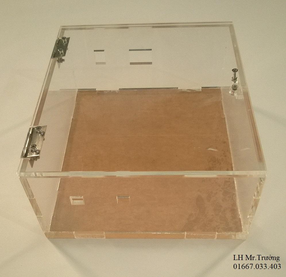 hộp nhựa vuông