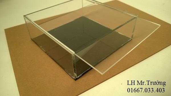 hộp nhựa mica