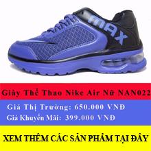 giày nike air tím