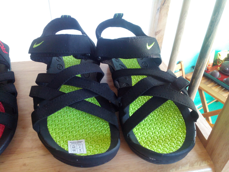 sandal 3 quai acg xanh chuoi
