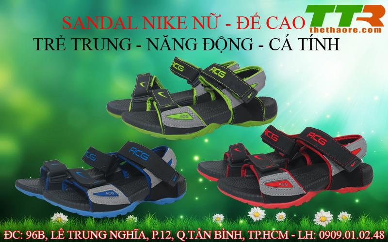 sandal nike nữ giá rẻ