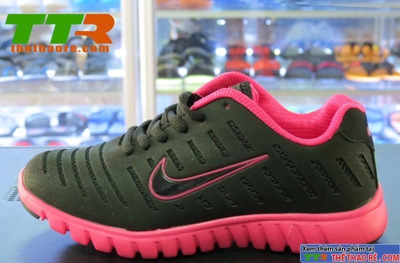 Giày Nike Super Light Đen Hồng NK90
