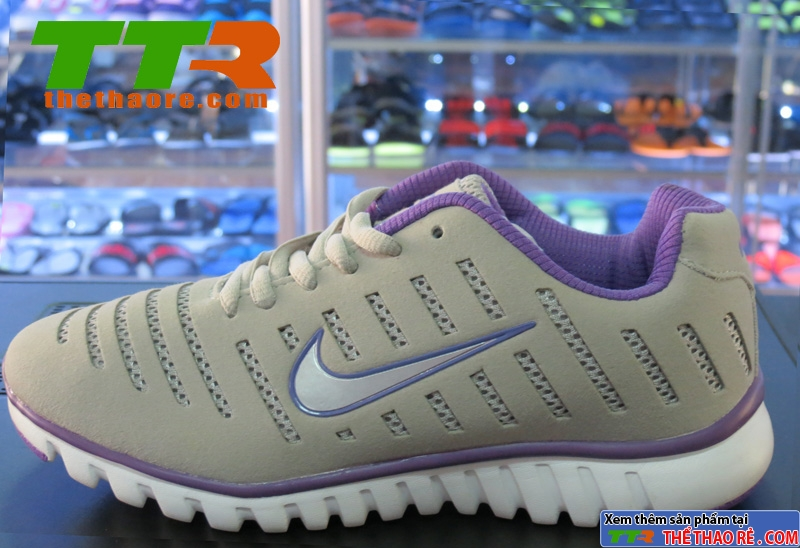 Giày Nike Super Light Xám tím NK88