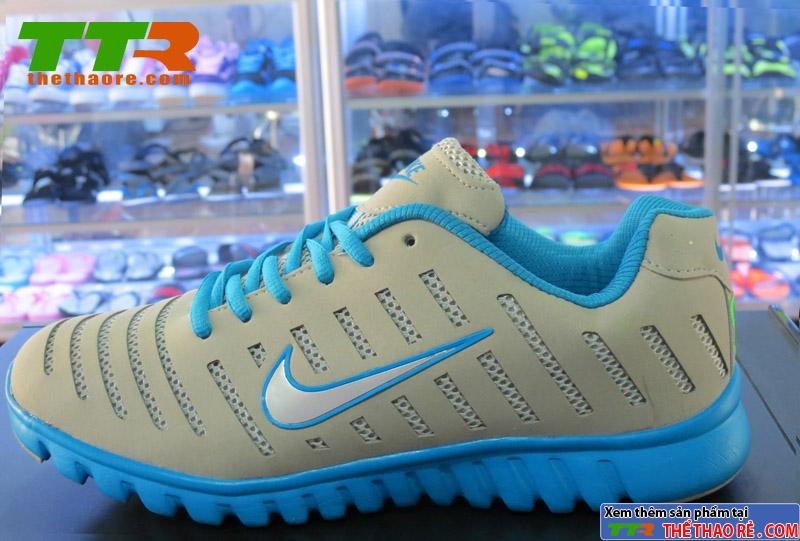Giày Nike Super Light Xám Xanh Dương NK086