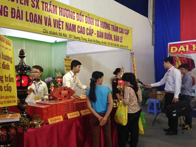 Hội chơ vàng khuyến mại Hà Nội 2014
