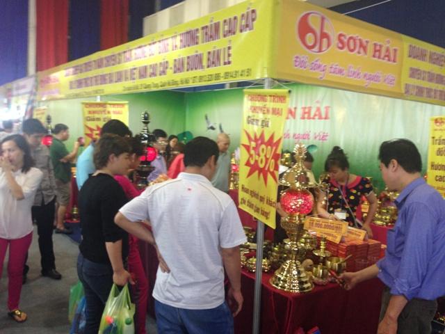 Hội chợ Vàng khuyến mại Hà Nội 2014