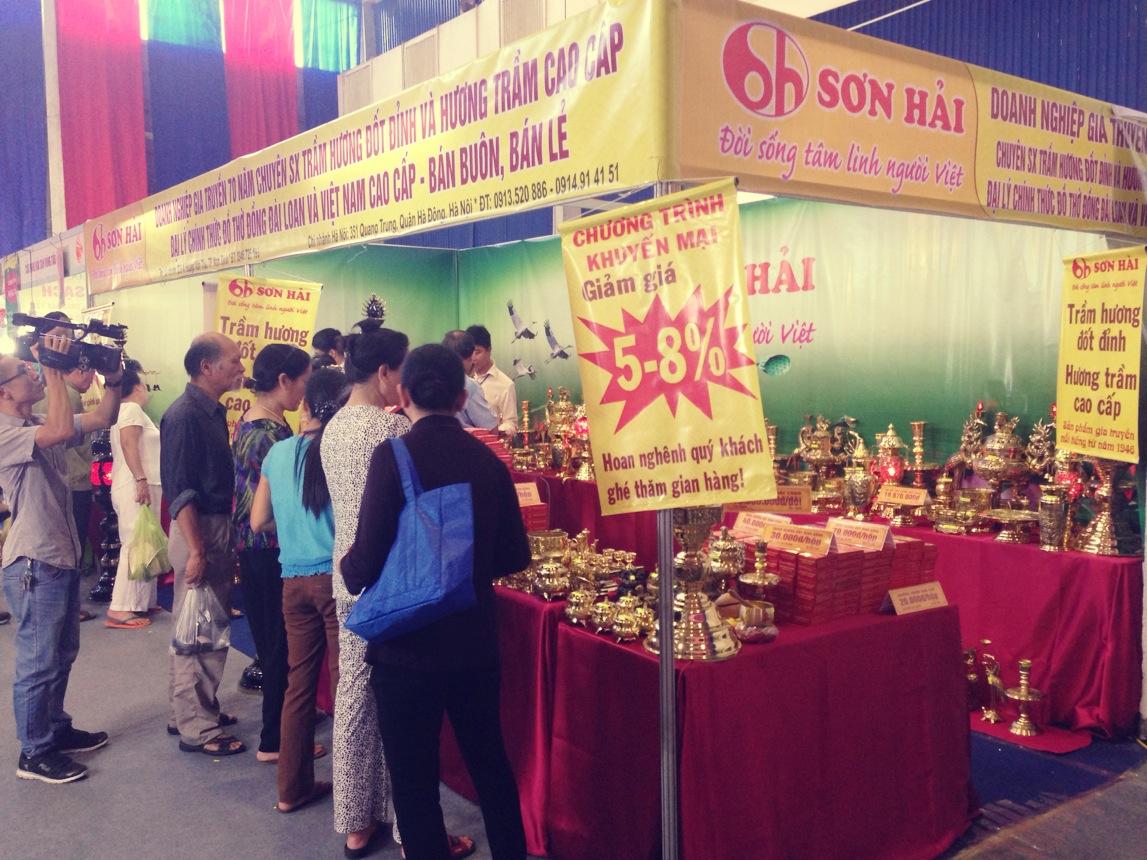 Hội chợ vàng khuyến mại Hà Nội