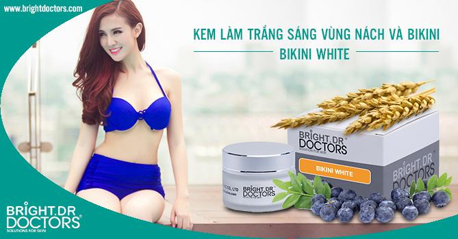 Kem làm mờ thâm, trắng sáng Nách & Bikini