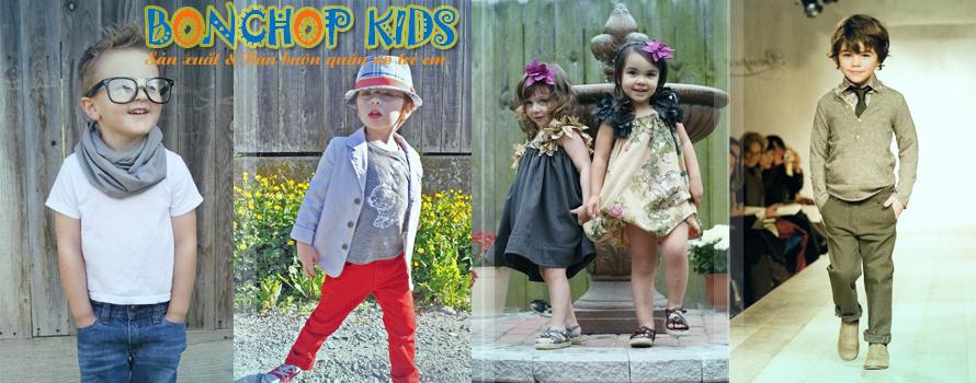 Sản xuất & Bán buôn quần áo trẻ em