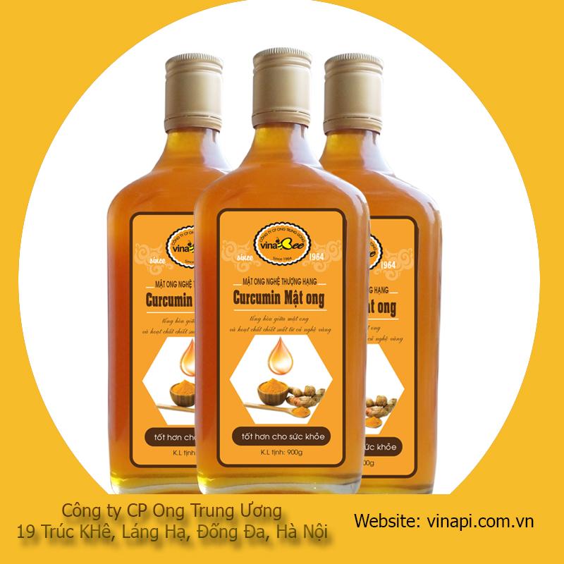 mật ong nano curcumin vinabee