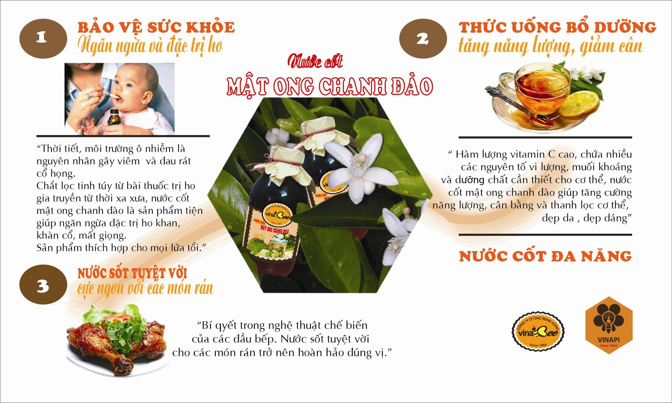nuoc cot mat ong chanh dao