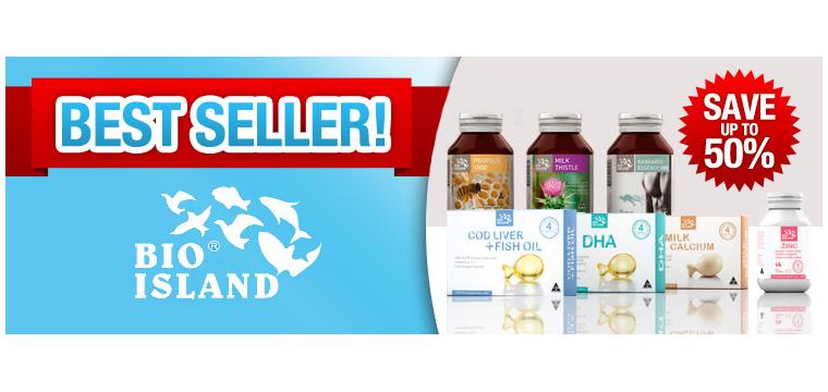 Bio Island - Sản phẩm bổ sung DHA cho bé thêm mạnh