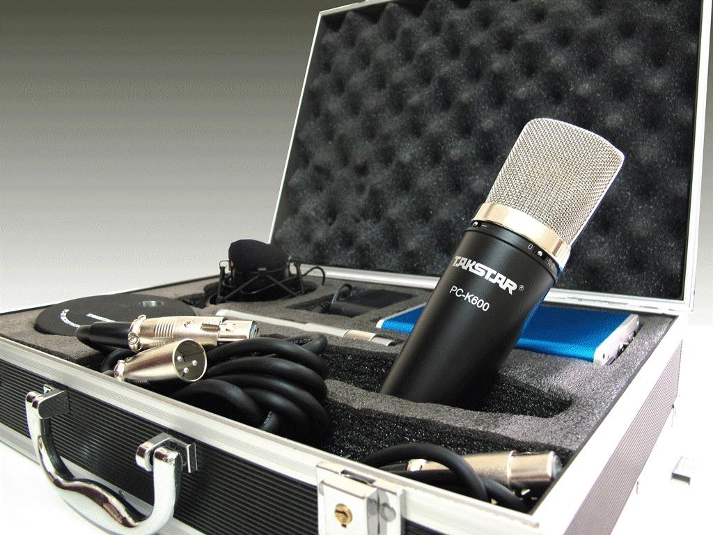 Micro thu âm Takstar K600 tích hợp đầy đủ chức năng của một phòng thu