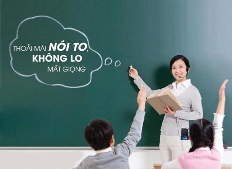 Yếu tố nghề nghiệp ảnh hưởng đến giọng nói của giáo viên