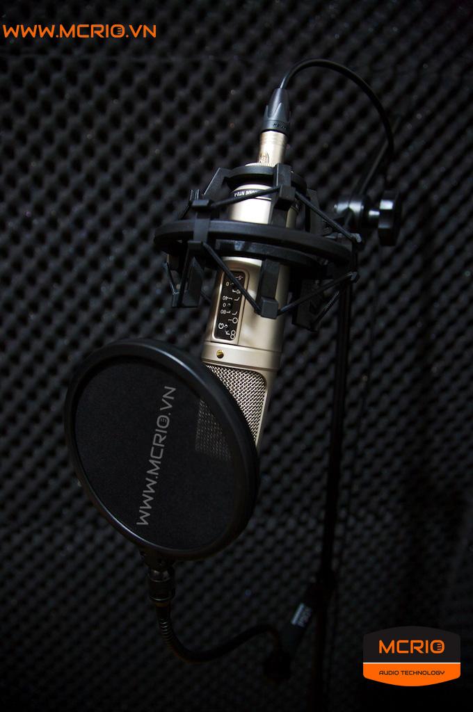 Mic thu âm Rode NT2-A
