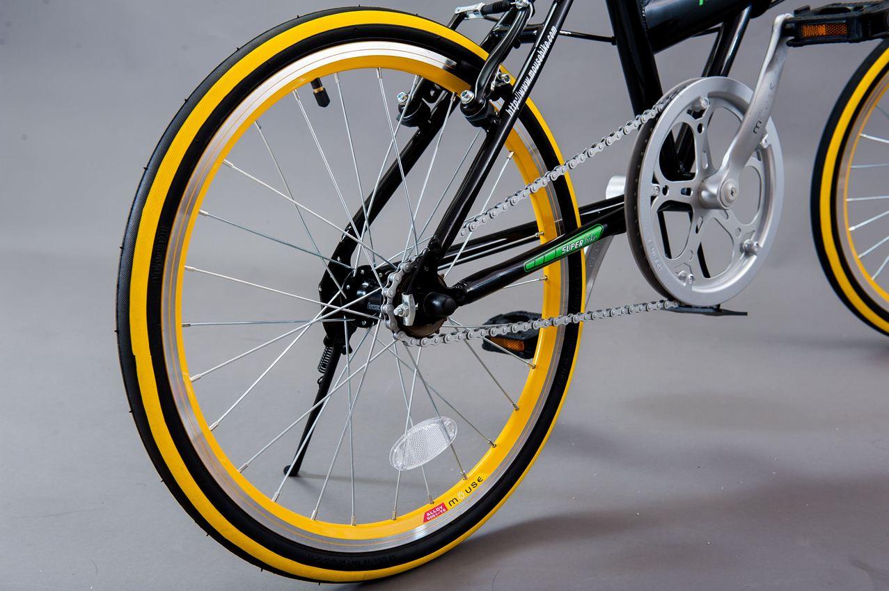 Cơ hội cuối cùng sở hữu chiếc xe đạp gấp cá tính Mouse Luhu
