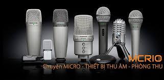 Các loại mic thu âm rẻ nhất của Mcrio
