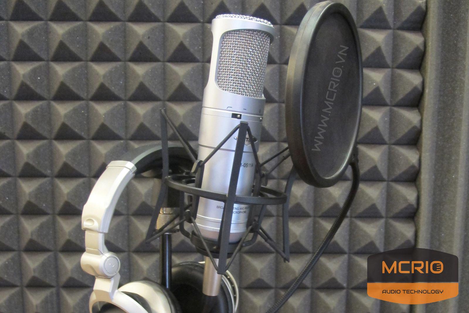 Mic thu âm chuyên nghiệp CO3u