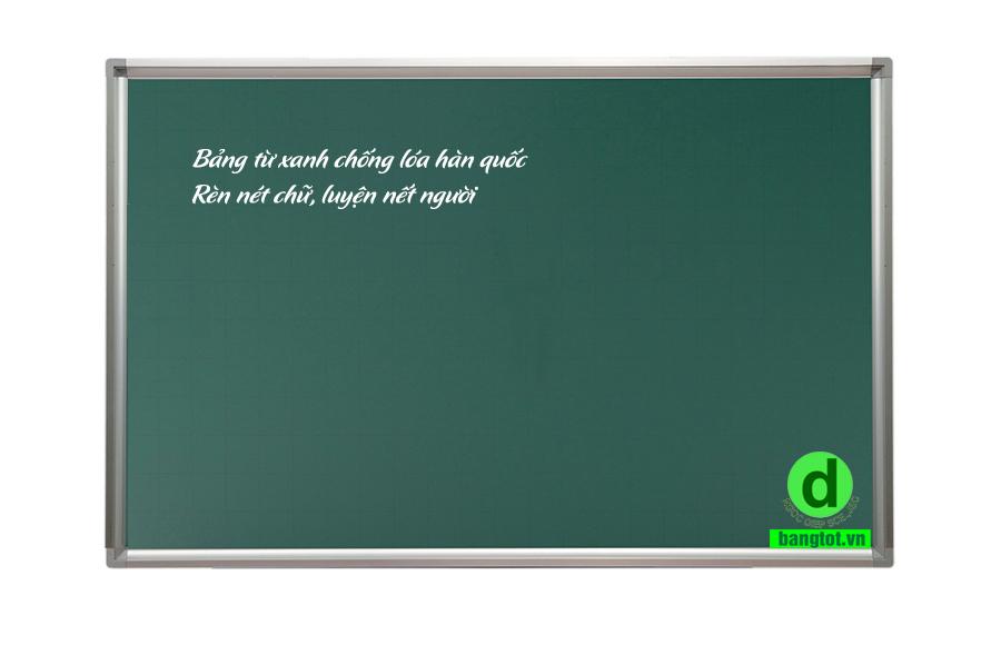 bảng từ xanh treo tường