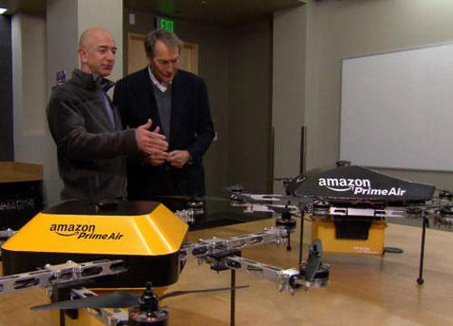 Amazon giao hàng bằng máy bay điều khiển từ xa