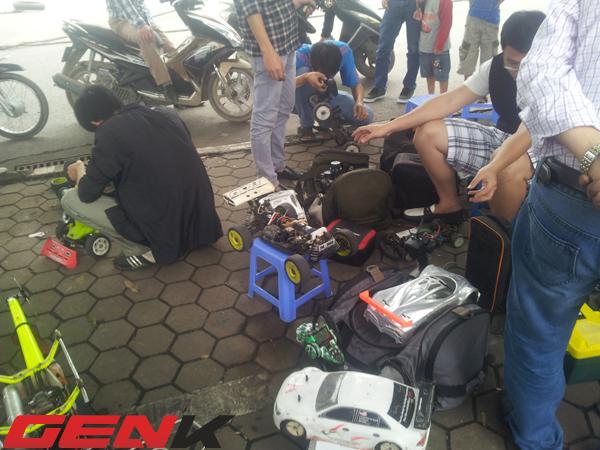 Tai nạn là điều rất bình thường, do đó người chơi xe phải am hiểu và có khả năng sửa xe