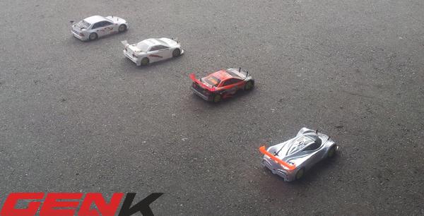 Một vài công tác chuẩn bị trước khi đưa xe vào cuộc đua.
