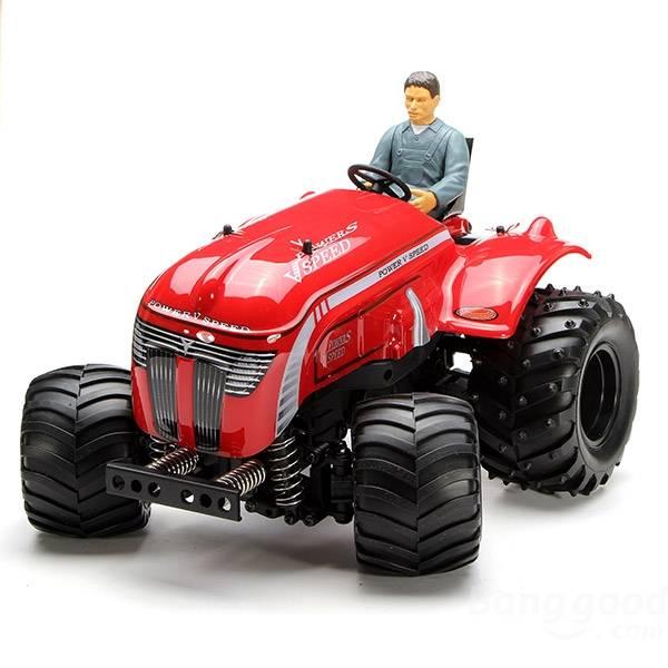 Xe điều khiển từ xa Wltoys P949 1/10 2.4GHz RC Stunt Monster Tractor RTR