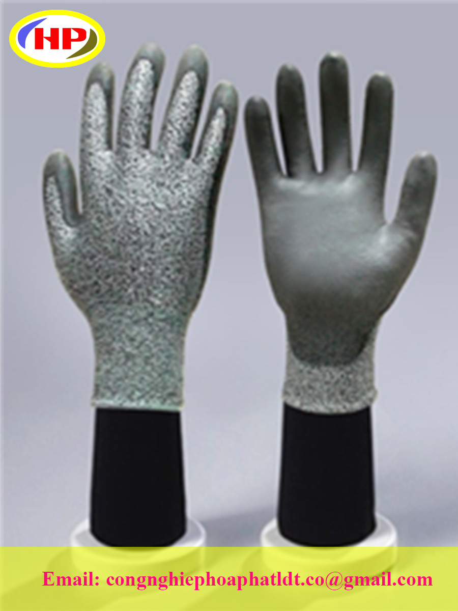 Găng tay sợi poly phủ PU (DCPG-300)