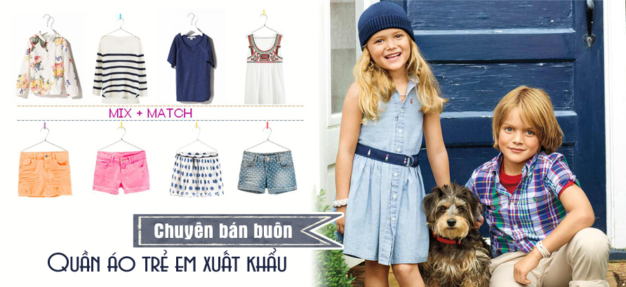Kimnams cơ sở bán buôn quần áo trẻ em xuất khẩu