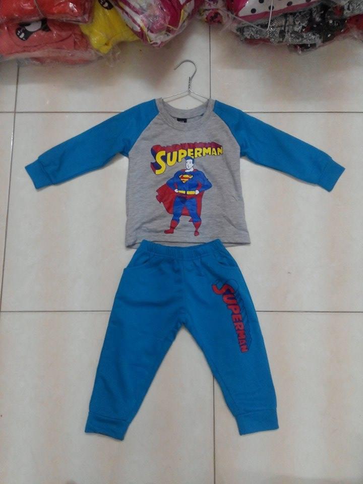 Bộ quần áo trẻ em superman