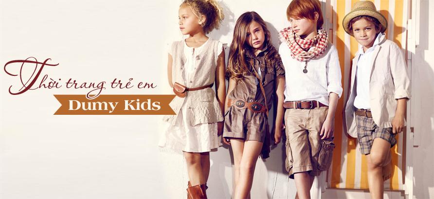 thời trang trẻ em dumy kids