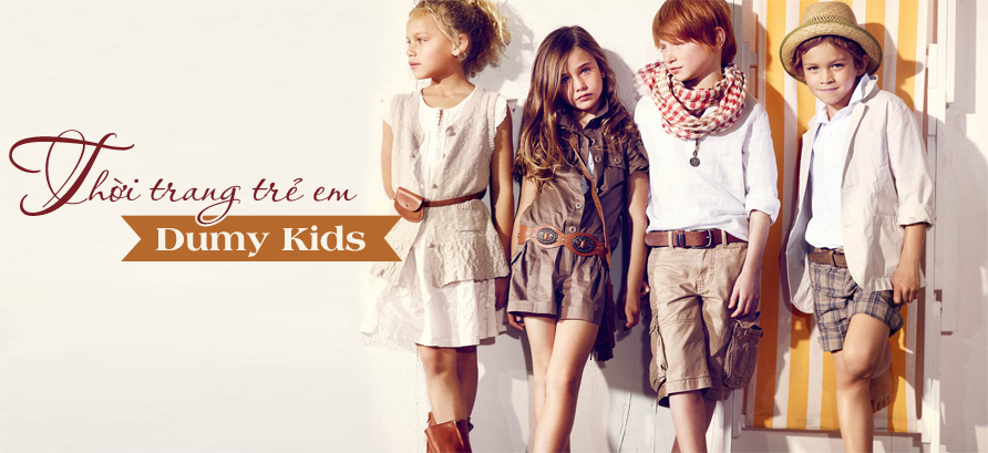 thời trang trẻ em dumy kids thương hiệu việt