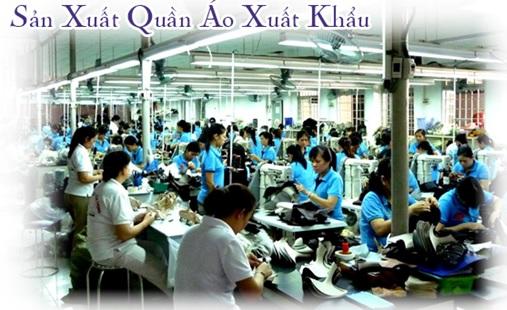 sản xuất quần áo trẻ em xuất khẩu