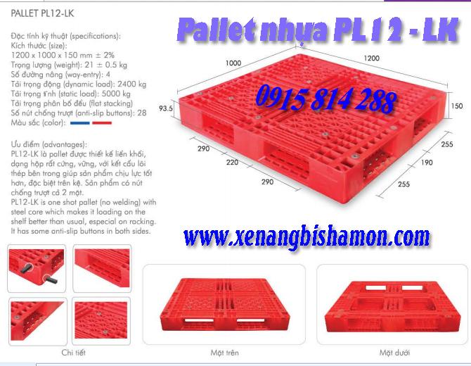 Palle nhựa Pl12LK