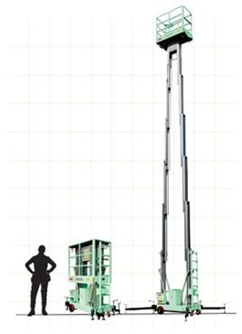 thang nâng điện GTWY10-2010