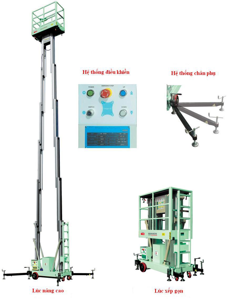 thang nâng điện GTWY08-2008