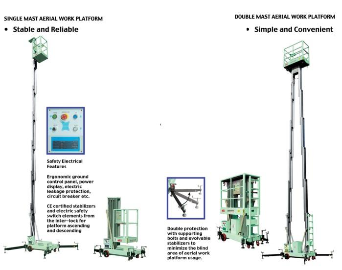 thang nâng điện OPK